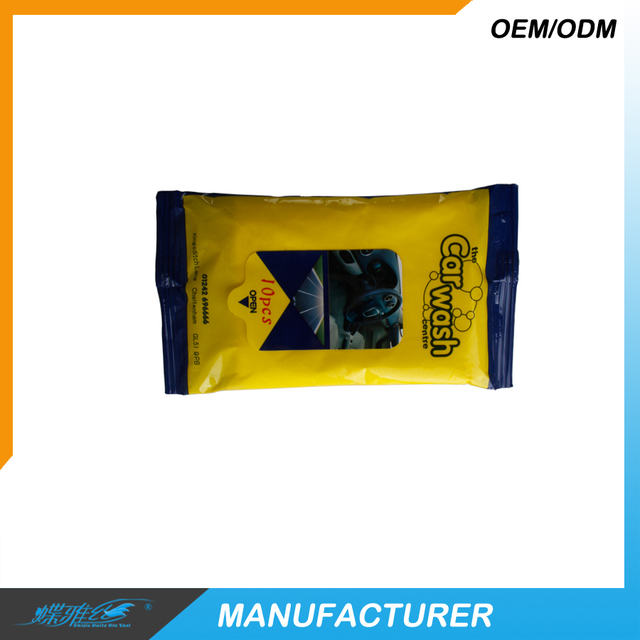 10 Pcs Car dashboard wipes